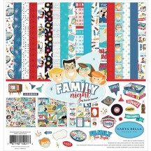 "Carta Bella Family Night 12""x12"" Collection Kit FN114016"
