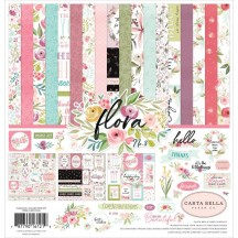 "Carta Bella Flora No 3 12""x12"" Collection Kit F117016"