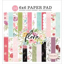 "Carta Bella Flora No 3 6""x6"" Double-Sided Paper Pad F117023"