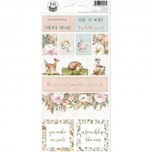 P13 Forest Tea Party Icon & Phrase Stickers 02 P13-FOR-12
