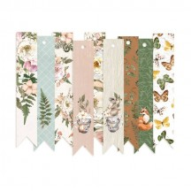 P13 Forest Tea Party Cardstock Decorative Tags 03 P13-FOR-23