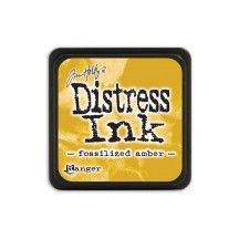 Ranger Tim Holtz Fossilized Amber Mini Distress Ink Pad TDP46783 yellow