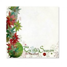 "Fancy Pants Tis The Season Overlay 12"" x12"" Transparency Sheet - 619"