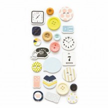 Fancy Pants Collecting Moments Button Embellishments 2052