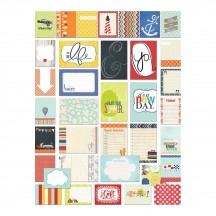 """Fancy Pants Nautical 3""""x4"""" and 4""""x6"""" Brag Cards 2228"""