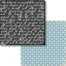 "Fancy Pants Me-Ology Attitude 12"" x12"" Double-Sided Paper Sheet - 2325"