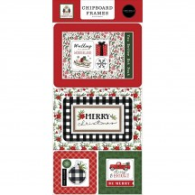 Carta Bella Home for Christmas Self Adhesive Chipboard Frames Stickers HFC139065