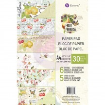 Prima Fruit Paradise A4 Double-Sided Paper Pad 30 sheets 638375