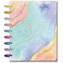 Me & My Big Ideas Soft Modern Geode CLASSIC Happy Planner Dated July 2020 - Dec 2021 PLNR-168