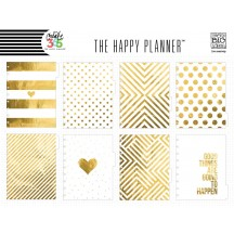 Me & My Big Ideas Create 365 CLASSIC Happy Planner Gold Dividers DIV-01