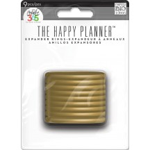 Me & My Big Ideas Create 365 The Happy Planner Gold Expander Rings RING-02