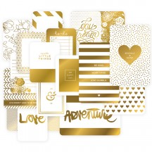 Becky Higgins Project Life Themed Cards - Golden 380366