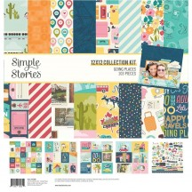 "Simple Stories Going Places 12""x12"" Collection Kit 12300"