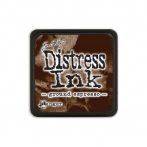 Ranger Tim Holtz Ground Espresso Mini Distress Ink Pad TDP47353 brown