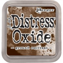 Ranger Tim Holtz Ground Espresso Distress Oxide Ink Pad TDO56010 brown