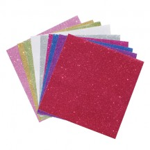 "Grace Taylor 12""x12"" Glitter Scrapbook Papers GS1568"