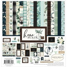 "Carta Bella Home Again 12""x12"" Collection Kit HOA109016"