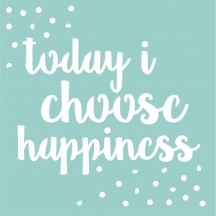 "Kaisercraft Happiness Quote 12""x12"" Stencil Template T630"
