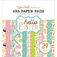 "Echo Park Happy Easter 6""x6"" Double-Sided Paper Pad 24 Sheets HEE45023"