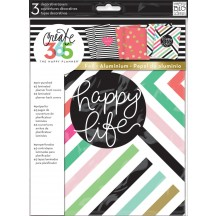 Me & My Big Ideas CLASSIC Happy Planner Decorative Planner Covers - Happy Life - COVX-01