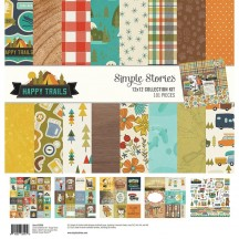 "Simple Stories Happy Trails 12""x12"" Collection Kit 10800"