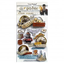 Paper House Harry Potter Watercolor 3D Layered Stickers STDM-0332