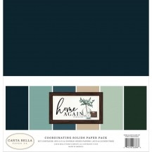 "Carta Bella Home Again 12""x12"" Solids Paper Kit HOA109015"