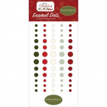 Carta Bella Hello Christmas Enamel Dots CBHC124028