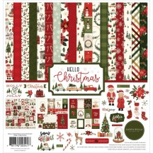 "Carta Bella Hello Christmas 12""x12"" Collection Kit HC124016"