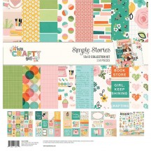"Simple Stories Hey, Crafty Girl 12""x12"" Collection Kit 11900"