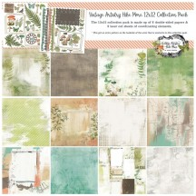 """49 and Market Vintage Artistry Hike More 12""""x12"""" Collection Pack VTH34352"""