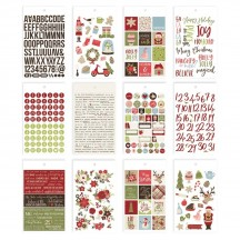 Simple Stories Holly Jolly Christmas Mini Sticker Tablet 11422