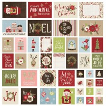 Simple Stories Holly Jolly Christmas Sn@p! Pocket Card Pack 11423