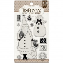Bo Bunny Holly Jolly Christmas Clear Stamp Set 12105768