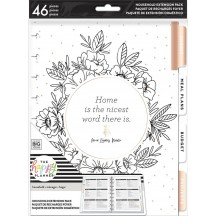 Me & My Big Ideas CLASSIC Happy Planner Extension Pack - Home HOM-03