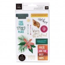 Heidi Swapp Art Walk Sticker Book 315376