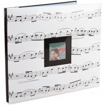 "MBI Music 12""x12"" Post Bound Scrapbooking Album 865461"