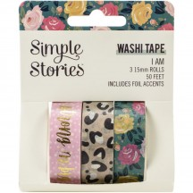Simple Stories I Am Washi Tape 3 Roll Pack 12419