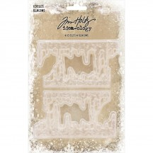 Tim Holtz Idea-ology Christmas Icicles Trim TH93778