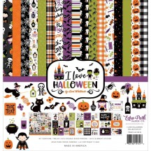 "Echo Park I Love Halloween 12""x12"" Collection Kit ILH218016"