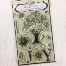 Anna Marie Designs Clear Stamps - Holly Tree