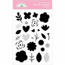 Doodlebug Love Notes I Pick You Clear Stamp Set 6586