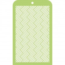 Kaisercraft Woven Mini Stencil Template IT003