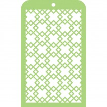 Kaisercraft Diamonds Mini Stencil Template IT014