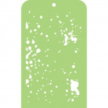 Kaisercraft Speckles Mini Stencil Template IT016