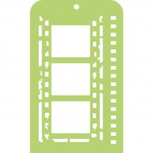 Kaisercraft Film Strip Mini Stencil Template IT033