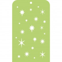 Kaisercraft Stars Mini Stencil Template IT041