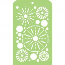 Kaisercraft Sea Urchins Mini Stencil Template IT046