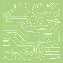 "Kaisercraft Linear Lines 6""x6"" Stencil Template IT494"