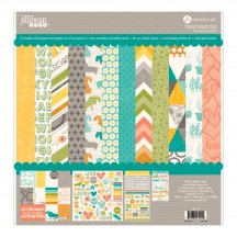 "Jillibean Soup Hardy Hodgepodge 12""x12"" Collection Pack JB1124"